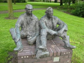 Schaftende arbeiders, 1962