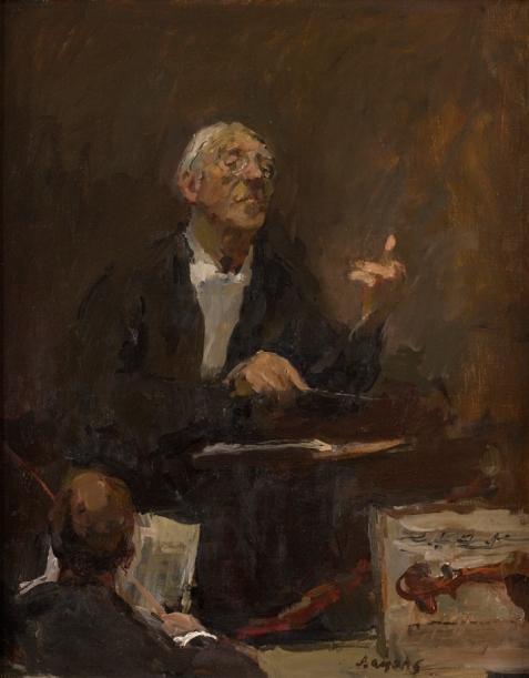 Dirigent Eugen Jochum, circa 1988