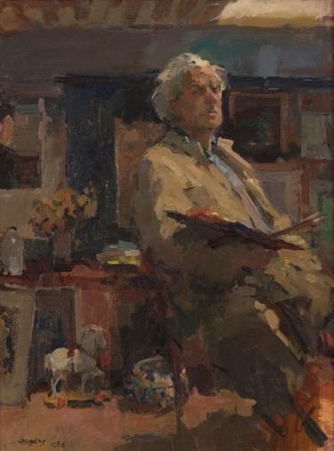 Zelfportret, 1986
