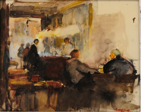 Café, circa 1989