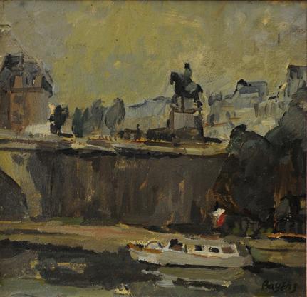 Parijs, Pont Henri IV, circa 1970