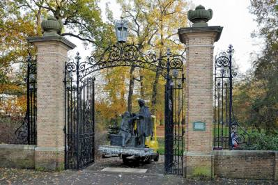 Constantijn en Christiaan Huygens voor Park Vreugd en Rust
