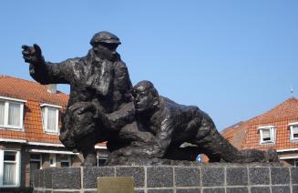 Sliedrecht, Crossline monument