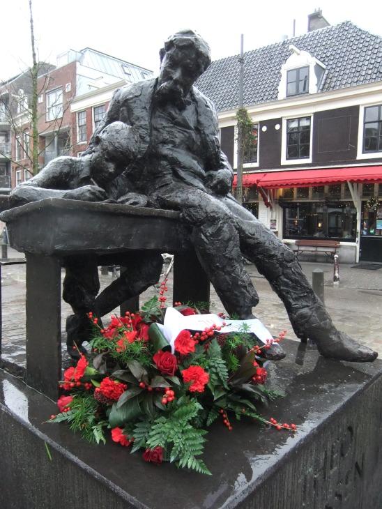 Theo Thijssen beeld 75ste sterfdag